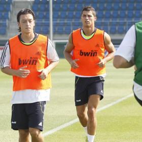 Mesut OZIL, el nuevo 10 del Real Madrid.