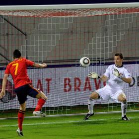 La roja a lo suyo. Liechestein (0) - España (4)