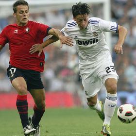 Primera victoria de Mou en liga. Real Madrid (1) - Osasuna (0)