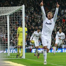 Cristiano, sobresaliente. Real Madrid (4) - Villareal (2)