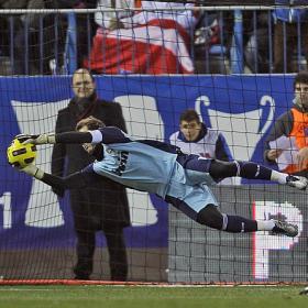 Superioridad blanca en la vuelta copera al Calderon. Atletico (0) - Real Madrid (0)