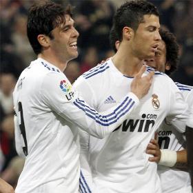 Kaká se une a la fiesta. Real Madrid (4) - Real Sociedad (0)