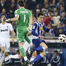 Un partido de hombres. Español (0) - Real Madrid (1)