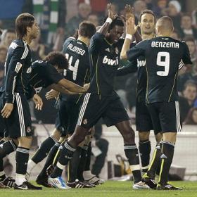 Ali mejor gana el Racing, pero no gano. Racing de Santader (1) - Real Madrid (3)