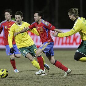 La roja sembro una nueva victoria. Lituania (1) -España (3)