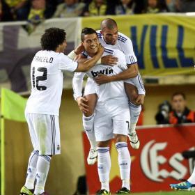 Cristiano entra en la historia del club blanco. Villareal 1 - Real Madrid 3