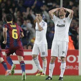 Falto poco. Barcelona 1 - Real Madrid 1