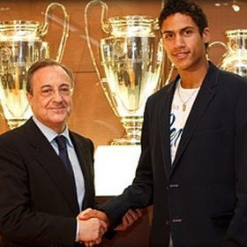 Raphael Varene, cuarto fichaje del Real Madrid para esta temporada.