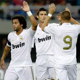 China el pais del gol naciente. Tianjin (0) - Real Madrid (6)