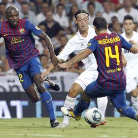 Mucho futbol, poca recompensa. Real Madrid (2) - F.C.Barcelona (2)