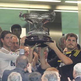 El Madrid se queda con su Trofeo. Real Madrid (2) - Galatasaray (1)